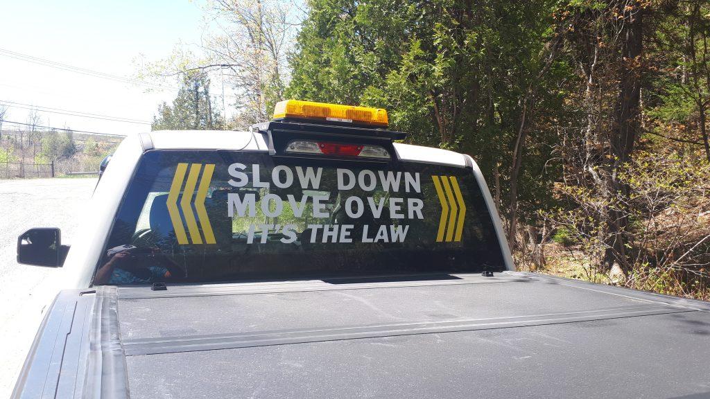 CAA Tow Truck