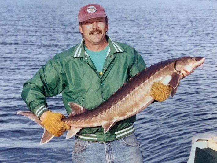 Steve Drost Fishing New Brunswick